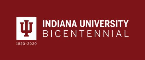 Indiana University Bicentennial Banner